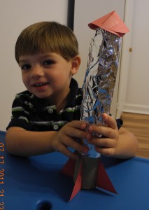 kids frugal fun rocket