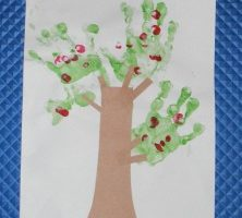 kids frugal fun apple tree