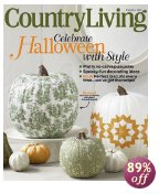 Post image for Today Only: Country Living Magazine – $5.99 Per Year