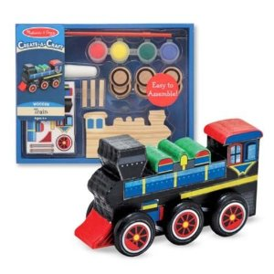 Post image for Melissa And Doug- Decorate Your Own Train $5.56