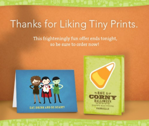 tiny prints halloween