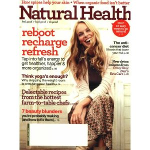 Post image for Natural Health Magazine Only $3.99 Per Year – 10/22