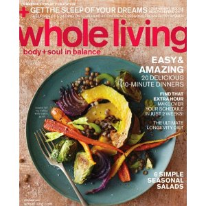 Post image for Whole Living Magazine Only $3.99 Per Year – 10/15
