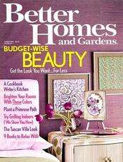 Post image for Better Homes and Gardens Magazine – Two Years For Only $5.99