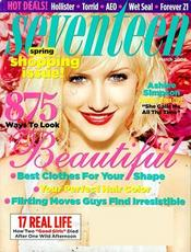 Post image for Seventeen Magazine Only $4.50 Per Year