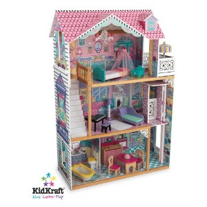 Post image for Amazon: KidKraft Annabelle Dollhouse W/ Furniture $109.99 (reg $227.99)