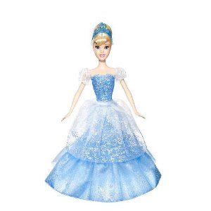 Post image for Disney Princess 2-In-1 Ballgown Surprise Tiana Doll & Cinderella $9.99