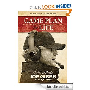 Post image for Free E-book: Game Plan for Life by Joe Gibbs