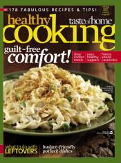 Post image for Healthy Cooking Magazine $6.99/yr