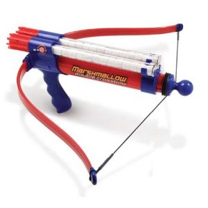 Post image for Double Barrel Marshmallow Crossbow $14.99