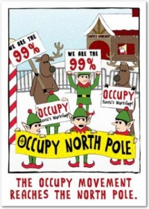 "Post image for ""Occupy North Pole"" Holiday Cards"