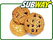 Post image for Subway: Free Cookie on President's Day