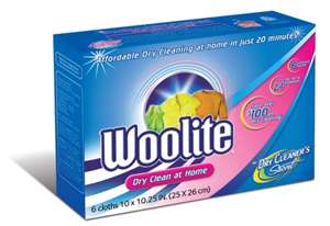 Post image for Free Sample Woolite Dry Cleaner's Secret