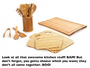 Post image for Core Bamboo Kitchen Accessories $14.99 Shipped