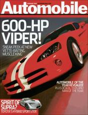 Post image for Automobile Magazine For Only $3.99 Per Year