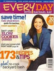 Post image for Every Day with Rachael Ray Magazine – $4.50/Year