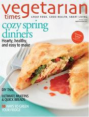 Post image for Today Only-Vegetarian Times Magazine Only $5.49 Per Year