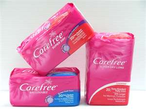 Post image for $1/1 Carefree Product Coupon (Free at Target/Walmart)