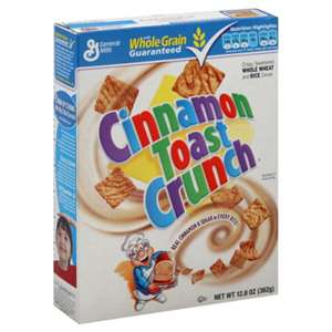 Post image for $.50/1 Cinnamon Toast Crunch Printable Coupon