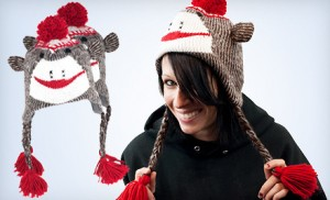 Post image for Knit Monkey Hat $9 Shipped