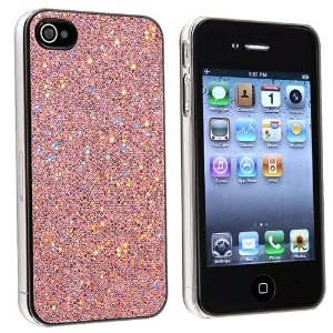light pink phone cover