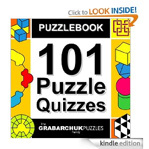 Post image for Amazon Free Download: Puzzlebook: 101 Puzzle Quizzes