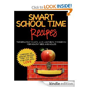 Post image for Amazon Free Book Download: Smart School Time Recipes: Breakfast, Snack, and Lunchbox Cookbook