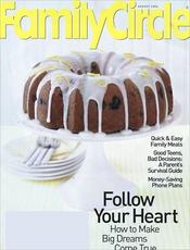 Post image for Family Circle Magazine $3.99/yr