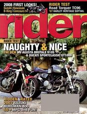 Post image for Rider Magazine For $4.29 Per Year – 9/14 Only
