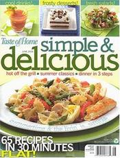 Post image for Simple and Delicious Magazine $6.99 a year