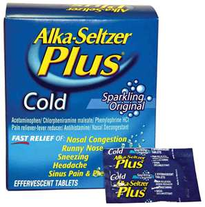 Post image for $2.00 off one Alka-Seltzer Plus Product
