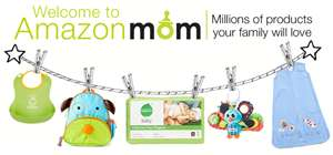 Post image for Amazon Mom Open To New Members and Bonus $10 Off First Diaper Order