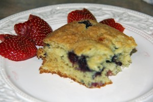 Post image for Blueberry Coffee Cake Recipe
