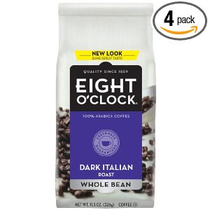 Post image for Eight O'Clock Coffee $3.47 A Bag Shipped