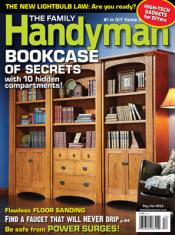 Post image for Family Handyman Magazine – $5.99 Per Year