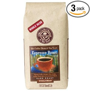 Post image for The Coffee Bean & Tea Leaf Expresso Roast 3 Pack For $15.54