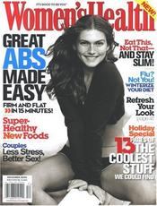Post image for Women's Health Magazine $3.99