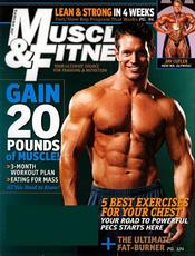 Post image for Muscle and Fitness Magazine $4.29/yr