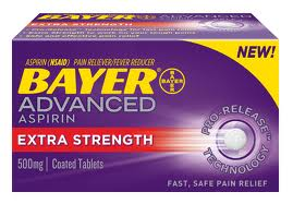 Post image for FREE Bayer Aspirin (With Coupon From Paper)