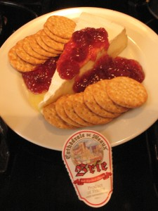 Post image for A Quick Brie Appetizer
