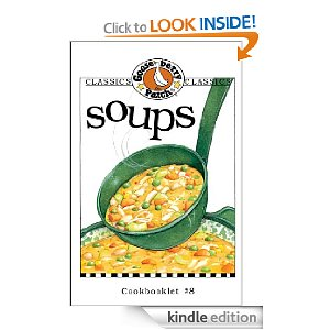 Post image for Amazon Free Book Download: Gooseberry Patch Soups Cookbook