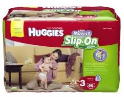 Post image for $3.00 off TWO HUGGIES Little Movers Slip-On Diapers