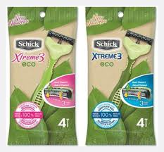 Post image for New Schick Xtreme3 Eco Razor Printable Coupon