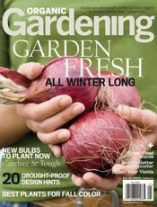 Post image for Organic Gardening Magazine $4.99/yr