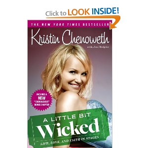 "Post image for Book #14: ""A Little Bit Wicked"" by Kristin Chenoweth"
