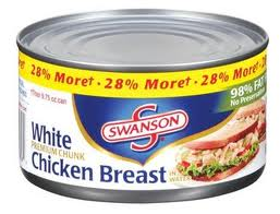 Post image for $1/3 Swanson Chicken Breast Cans (Harris Teeter Deal)