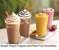 Post image for Burger King $1.00 Frappes and Smoothies