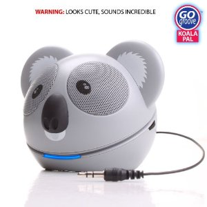 Post image for GOgroove Koala Pal High-Powered Portable Speaker System $16.99