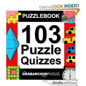 Post image for Amazon Free Book Download: Puzzlebook: 103 Puzzle Quizzes
