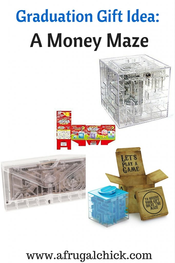 Money Maze Graduation Gift
